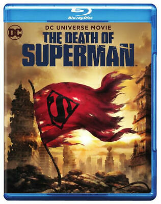 The Death of Superman (Blu-ray + DVD, 2018) BRAND NEW FREE SHIPPING