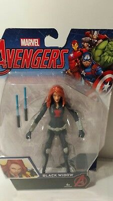 Marvel Avengers Black Widow Action Figure New Sealed 6""