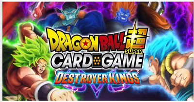 Dragon Ball Super Destroyer Kings BT6 COMPLETE DR Playset TCG NEAR MINT