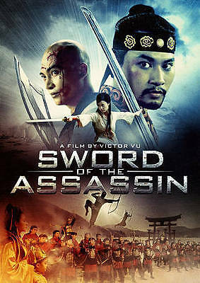 Sword of the Assassin (DVD, 2014) *BRAND NEW & SEALED*