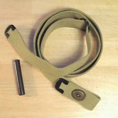USGI WWII .30 M1 CARBINE Khaki SLING and OILER New