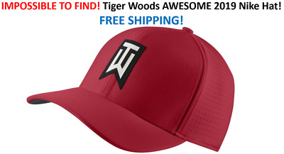 a4cae181402c2 NEW COLORS! RARE! SHIPS IN BOX 2019 Nike TW Ultralite Golf Hat Tiger ...