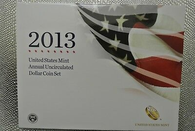 2013 United States Annual Uncirculated Dollar Coin Set