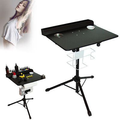 IRON PORTABLE MOBILE Tattoo Workstation Stand Display Rack Desk ...
