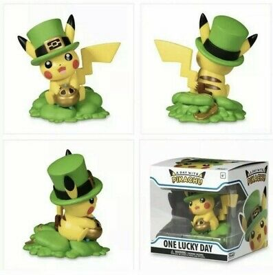 Funko Figure Pokemon A Day With Pikachu One Lucky Charm Vinyl! Sold Out!