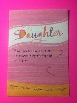 Blue Mountain Arts Greeting Card Daughter Even Though Your Not Little No More