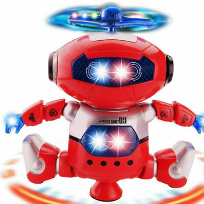 Toys For Boys Smart Robot Kids Toddler Dancing Musical Toy Birthday Gift
