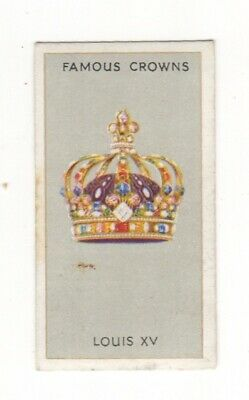 Famous Crowns 1938. The Royal Crown of King Louis XV, France
