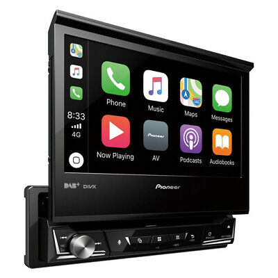 AVH-Z7100DAB Single Din Head Unit Audio Stereo Sound Automotive Car By Pioneer