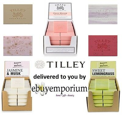 **minimum 20 Bars** Special Price: Tilley Vegetable Soap 100Gm Bars 30+ Frag's