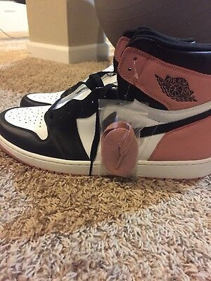 e059e4257b09 Air Jordan 1 Retro High 861428-101 Art Basel Rust Pink Size 17 Deadstock  RARE