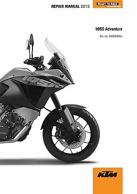 KTM Service Workshop Shop Repair Manual Book 2015 1050 Adventure