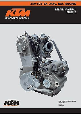 KTM Engine Service Workshop Shop Repair Manual Book 2003 450 SX RACING