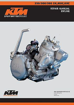 KTM Engine Service Workshop Shop Repair Manual Book 1999  380 SX