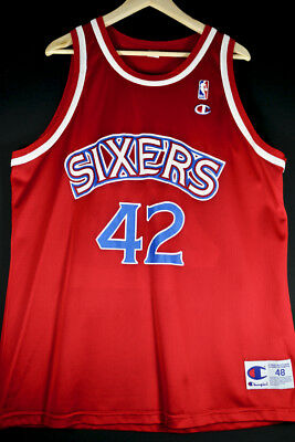 RARE NEU Champion Jerry Stackhouse 76ers XL NBA Trikot Basketball Jersey Iverson