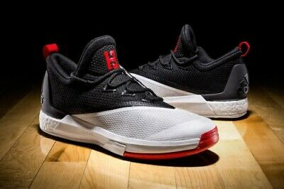 5e791edd2318 Adidas Crazylight Boost 2.5 Low James Harden Mens Shoes Size 10.5 NEW B42728