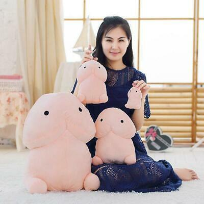 Kawaii Penis Ding Ding Soft Pillow Stuffed Plush Doll Toy Creative Bolster Gifts
