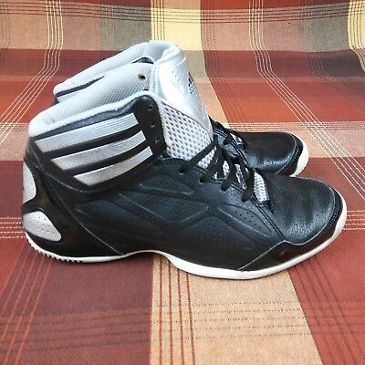 new product 13652 873b8 ADIDAS Next Level Speed Basketball Shoes Black Silver Men s Size 7