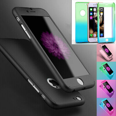 Case for iPhone 6 7 8 5S SE Plus Cover 360 Luxury UltraThin Shockproof Hybrid