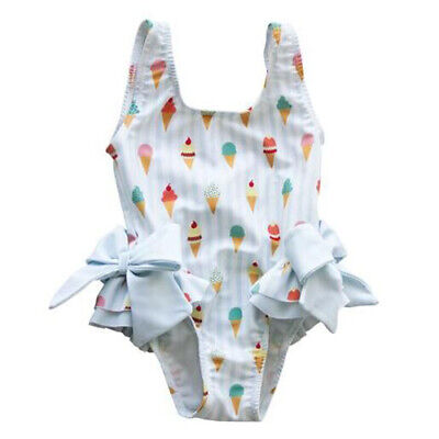 871252d7f1 Cute Kids Toddler Baby Girls Swimsuit Bow Bikini Bathing Suit Beach Swimwear  New