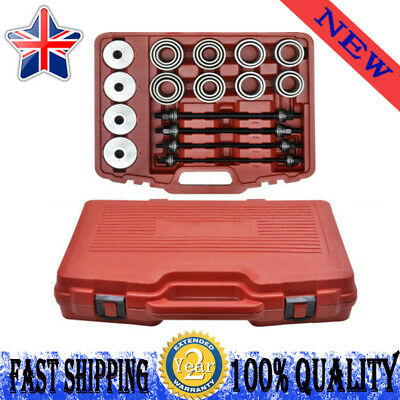 36PCS Universal Press and Pull Sleeve Kit Removal Install Bush Bearing Tools Kit