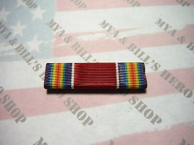 WW2 WWII Victory Medal Ribbon Slide On US Army Navy Air Force Marines