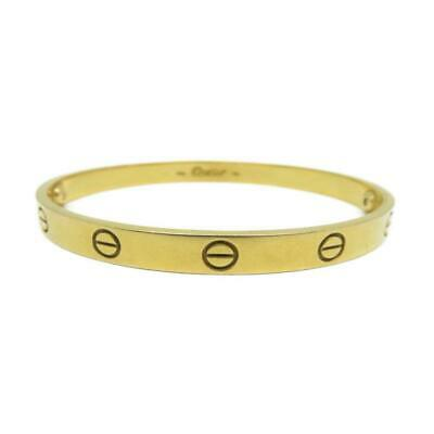 40b179a1d VINTAGE CARTIER RIBBED Bangle in 18K Yellow Gold - $6,000.00 | PicClick