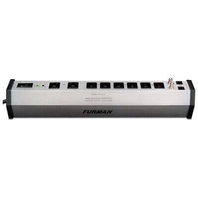 Furman Power PST-8 15A 8 Outlet Surge Suppressor Strip w/SMP, LiFT and EVS