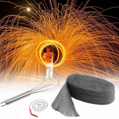 Pography props Steel Wool Shoot Fireworks Light Painting + Whisk-Kit-