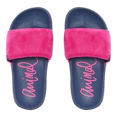 Animal Girls Slydie Flip Flops | Patriot Blue