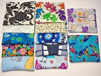 BAG 'O NIP Highly Potent Organic Catnip Pouch LOT OF 5 ASSORTED PRINTS Cat Toy