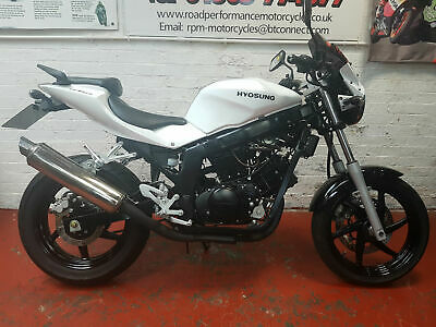 Hyosung GT 125 P learner legal