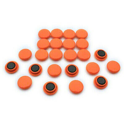Small Planning & Notice Board Magnets - Orange (20 Packs of 24)