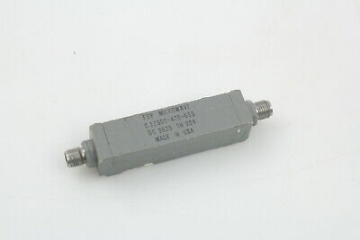Fsy Microwave Bandp Filter 10650 11150mhz 40 50 Picclick