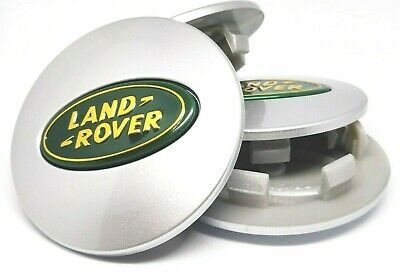 LAND ROVER coppette Tappi borchie Coprimozzo DISCOVERY VOGUE EVOQUE 63 mm