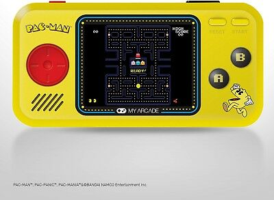 My Arcade - Pac-Man Pocket Player Portable Gaming System - Yellow/Black