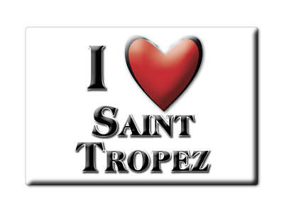 Saint Tropez (83) Magnets France Limousincalamita Souvenir Aimant I Love