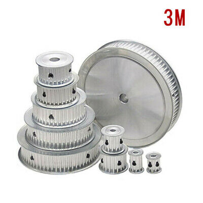 3M 14-72T Pitch 3mm Tooth Width 17mm Timing Belt Pulley Synchronous Wheel Gear