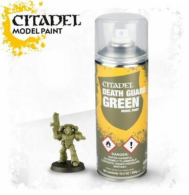 CITADEL Death guard green model paint Primer Warhammer Spray games workshop NEW