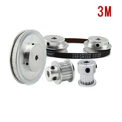 3M 15T-100T Pitch 3mm Tooth Width 11mm Timing Belt Pulley Synchronous Wheel Gear