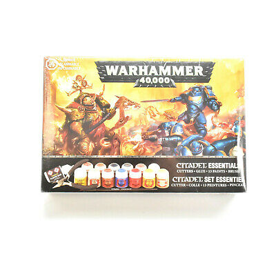 CITADEL Essentials cutters glue paints brush Warhammer games workshop NEW