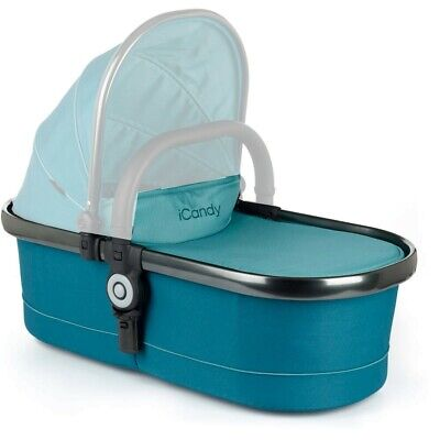iCandy Peach Main Carrycot - Peacock / Space grey IC1372