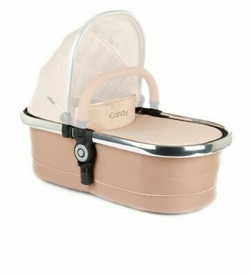 iCandy Peach Main Carrycot - Butterscotch / Chrome IC1378