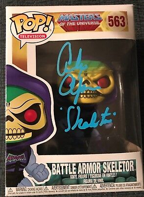 Masters of the Universe Skeletor Funko Pop SIGNED voice actor Alan Oppenheimer