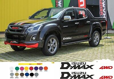 ISUZU D-MAX Sticker ISUZU DMAX DECAL Stickers 4WD stickers
