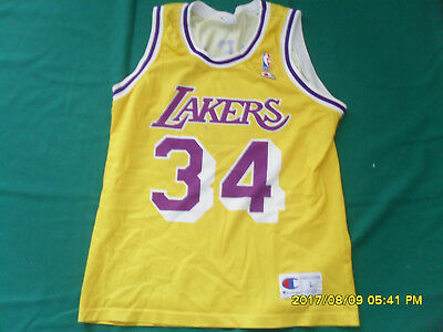 Los Angeles Lakers Maglia nba basket canotta jersey O NEAL Champion L trikot d4f436ed48c8