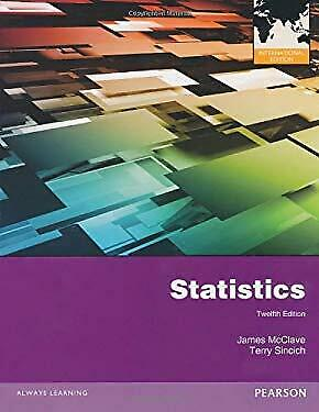 Statistics : International Edition by McClave, James T.