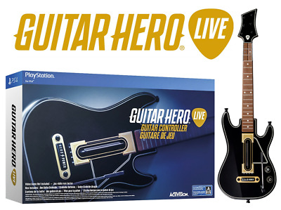 Sony PlayStation 4 Guitar Hero LIVE Bundle Controller + Dongle NO GAME | NICE>