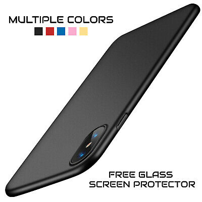 iPhone XS UltraThin TORRAS Shockproof Protective Case Cover + Screen Protector