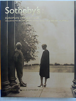 Sotheby's Catalogue Amsterdam - European Collections 2006 - 404 Pages/1169 Lots